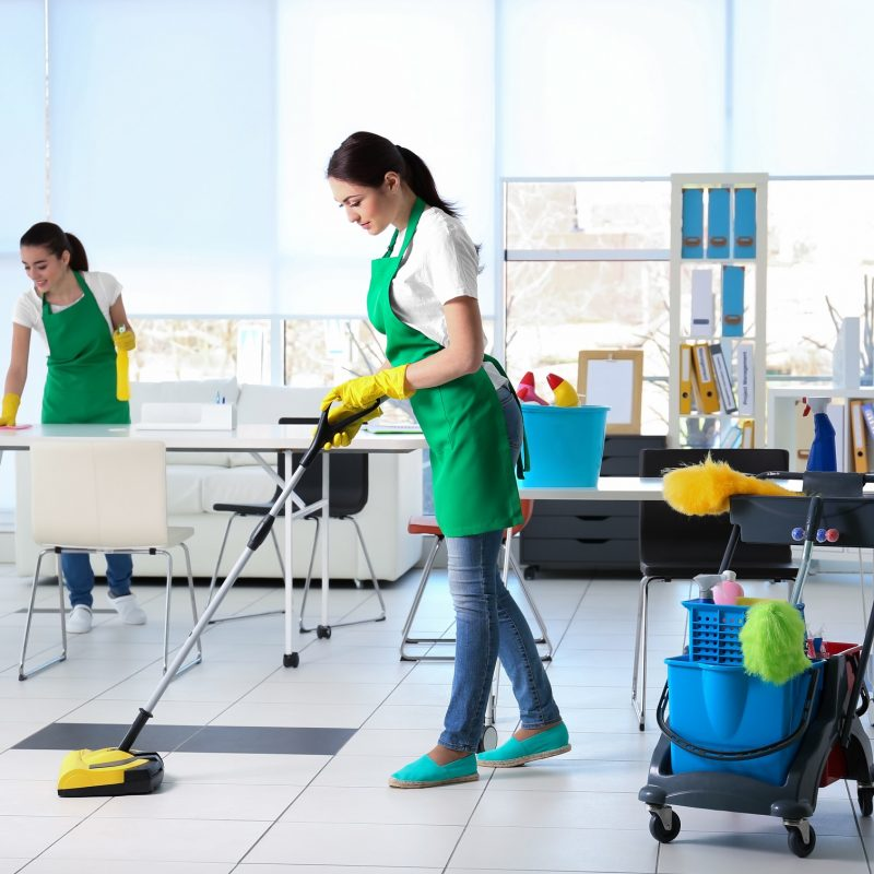 Büro reinigung